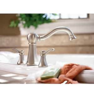 Moen Vestige™ 3-Hole Roman Tub Faucet with Double Lever Handle in Oil Rubbed Bronze MT932ORB