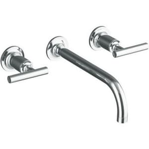 Kohler Purist® Two Handle Widespread Bathroom Sink Faucet in Polished Chrome KT14414-4-CP