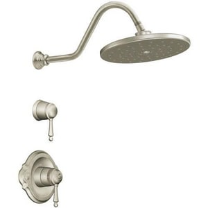 Moen Waterhill™ Thermostatic Shower Trim Only in Brushed Nickel MTS3112BN