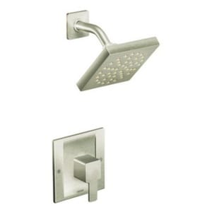 Moen 90 Degree™ Single Lever Handle Shower Trim Only in Brushed Nickel MTS3715BN