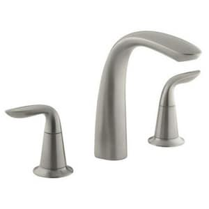 KOHLER Refinia® Two Handle Roman Tub Faucet in Vibrant Brushed Nickel Trim Only KT5323-4-BN