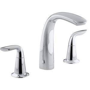 KOHLER Refinia® Two Handle Roman Tub Faucet in Polished Chrome Trim Only KT5324-4-CP