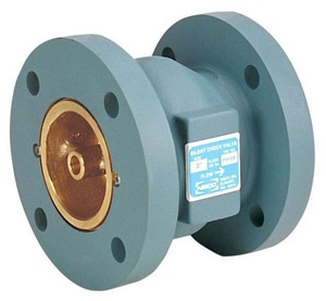 NIBCO 2-1/2 in. Cast Iron Flanged Check Valve NF910BLFL at Pollardwater