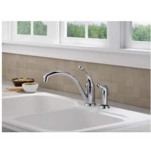 Delta Faucet Collins™ Single Handle Kitchen Faucet in Stainless D441SSDST