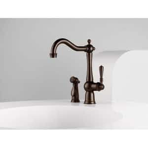 Brizo Tresa Single Handle Kitchen Faucet in Stainless D61136LFSS
