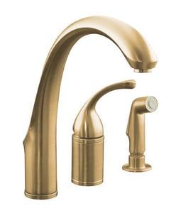 Kohler Forte® Single Handle Kitchen Faucet in Vibrant Brushed Bronze K10430-BV