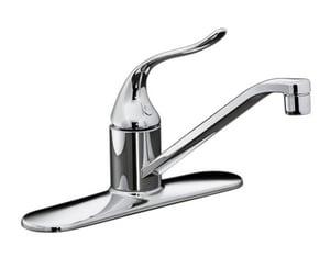 KOHLER Coralais® Single Handle Kitchen Faucet in Polished Chrome K15171-P-CP