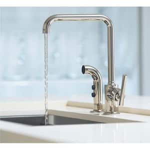 Kohler Purist® Single Handle Kitchen Faucet in Polished Chrome K7508