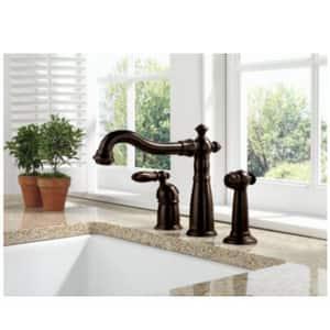 Delta Faucet Victorian® Single Handle Widespread Kitchen Faucet