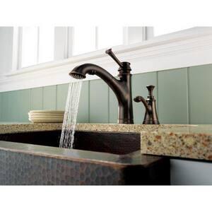 Brizo Baliza® Single Handle Kitchen Faucet in Venetian Bronze D63005LFRB
