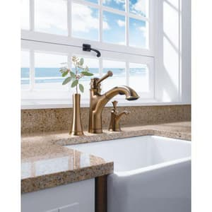 Brizo Baliza® Single Handle Kitchen Faucet in Brilliance Brushed Bronze D63005LFBZ