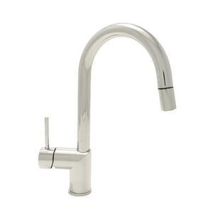 Mirabelle® Ravenel 1.75 gpm Deckmount Kitchen Sink Faucet 360 Degree Swivel Pull-Down Spout with Single Lever Handle MIRXCRA100