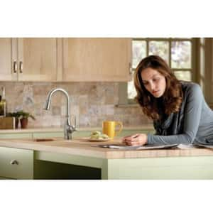 Moen Brantford™ Single Lever Handle Bar Faucet in Polished Chrome M5985
