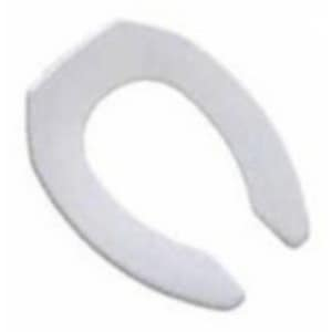 PROFLO® Elongated Open Front Toilet Seat in White PFTSCOFA2000WH