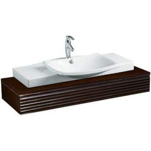 Kohler Symbol® Single Handle Monoblock Bathroom Sink Faucet in Polished Chrome K19480-4-CP
