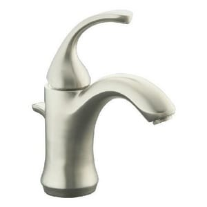 Kohler Forte® Lavatory Faucet with Single Lever Handle and Plastic Pop-Up Drain K10216-4