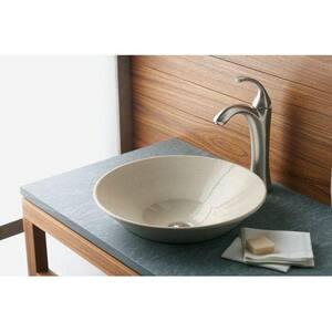 KOHLER Forte® Single Handle Vessel Filler Bathroom Sink Faucet in Brushed Chrome K10217-4-G