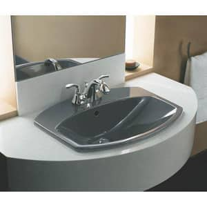 KOHLER Forte® Two Handle Centerset Bathroom Sink Faucet in Brushed Chrome K10270-4-G