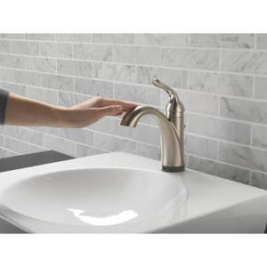 Delta Faucet Lahara® Single Handle Centerset Bathroom Sink Faucet in Brilliance Stainless D538TSSDST