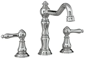 Mirabelle® St. Augustine Two Handle Roman Tub Faucet in Polished Chrome Trim Only MIRSA3RT