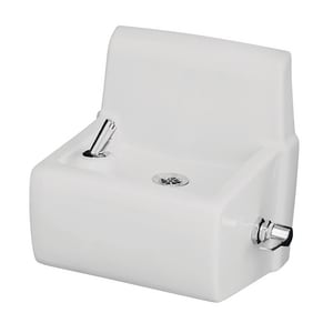 Kohler Millbrook™ Vitreous China Wall- Mount Drinking Fountain White K5264-0