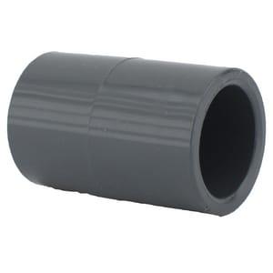 Xirtec® 3/4 in. Socket x Slip Straight Schedule 80 PVC Coupling P80SCF at Pollardwater