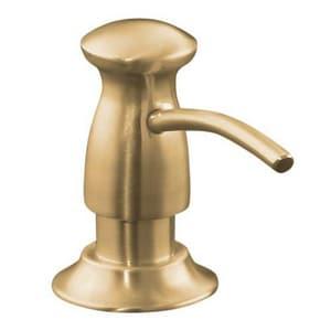 Kohler 3-5/16 in. 16 oz Kitchen Soap Dispenser in Vibrant Brushed Bronze K1893-C-BV