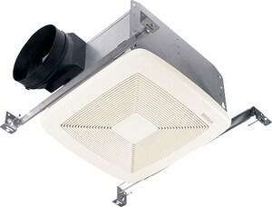 Broan Ultra Silent™ 50 CFM Bathroom Exhaust Fan in White BQTXE050