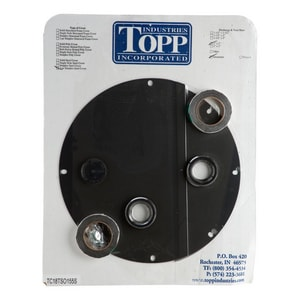 Topp 18 In. Structural Foam Split Lid with Gasket Set For B2 TC18TSO155S