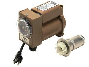 Taco Plumb N' Plug Series 3/4 Bronze 6 Ft. Cord & Timer Circulator Pump T006B4PNP