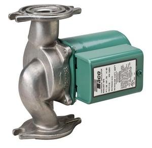 Taco 1/25 hp 23 gpm 115V Stainless Steel Flange Cartridge Circulator T007SF5