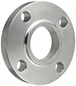 1-1/2 in. Slip-On 150# 316L Stainless Steel Raised Face Flange IS6LRFSOFJ
