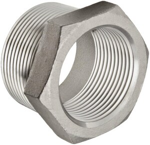 1/4 x 1/8 in. Threaded 150# 304L Stainless Steel Bushing IS4CTBBA