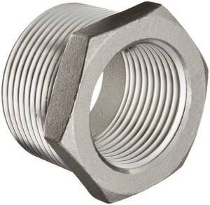 3/8 x 1/8 in. Threaded 150# 316 Stainless Steel Bushing IS6BSTBSP114CA