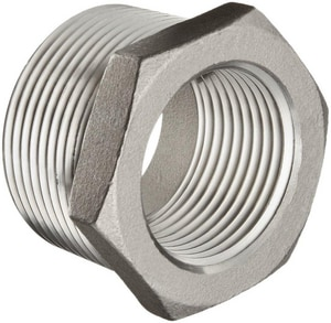 3/8 x 1/4 in. Threaded 150# 316 Stainless Steel Bushing IS6BSTBSP114CB