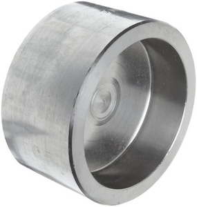 1-1/2 in. Socket 3000# 304L Stainless Steel Cap IS4L3SCAPJ