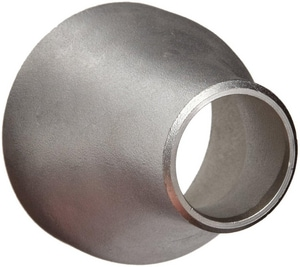 1-1/2 x 1 in. Butt Weld Schedule 40 316L Stainless Steel Eccentric Reducer IS46LWERJG