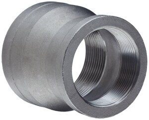 3/4 x 1/4 in. Threaded 150# 304L Stainless Steel Coupling IS4CTCFB