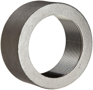 1/2 in. Threaded 150# 304 Stainless Steel Half Coupling IS4BSTHCSP114D
