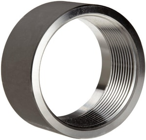 1/8 in. Threaded 150# 316 Stainless Steel Half Coupling IS6CTHCA