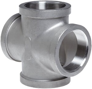 3/4 in. Threaded 150# 316 Stainless Steel Cross IS6CTCRF