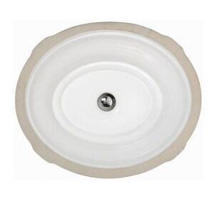 American Standard Tudor™ 17 in. Undermount Lavatory Sink White A0632000020