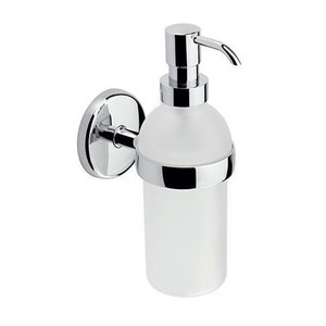 Ginger USA Hotelier™ Wall Mount Soap and Lotion Dispenser in Satin Nickel G0314SN