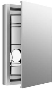 Kohler Verdera® 20 in. 20 x 30 in. Aluminum Medicine Cabinet, Slow Closing Doors K99003-NA