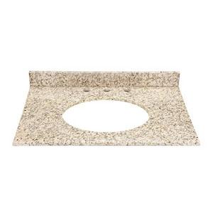 DECOLAV® 31 in. Granite Countertop with Back Splash in Carmello D1667GCA