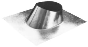 American Metal Products AmeriVent® 3-5/8 x 20-1/4 x 4 in. Galvanized Steel All Fuel Pipe Flashing A3EFFU