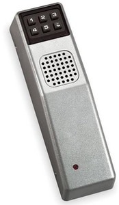 Alarm Lock 9V Door Alarm in Metallic Silver APG30MS