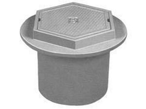 U.S. Foundry 20 in. Hex Lid Sewer Valve Box U7635HL