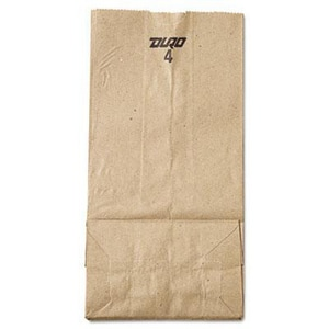 9-3/4 x 3-1/3 x 5 in. 30 lbs. Paper Grocery Bag in Brown BAGGK4500