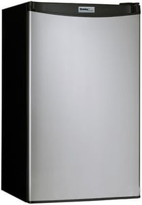Danby Products Danby® 17-11/16 in. 3.2 cf Refrigerator with Push Button in Stainless Steel DDCR88BSLDD